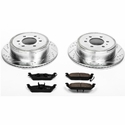 Power Stop 1-Click Rear Brake Kit (04-11 2WD, 4WD, 6-Lug) - Power Stop K1950