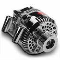 Powermaster Alternator - 200 Amp Chrome (97-04 4.2L, 4.6L & 5.4L) - Powermaster 37768||37763
