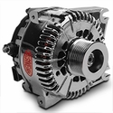 Powermaster Alternator - 200 Amp Chrome (99-04 Lightning) - Powermaster 38251