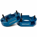 ReadyLIFT 2 in. Billet Aluminum Leveling Kit - Anodized Blue (04-14 All) - ReadyLIFT T6-2059B