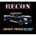 Recon 62 in. BIG RIG ICE LED Running Light Kit - Amber w/ White Courtesy Light (97-14 All; Raptor) - Recon 26414X