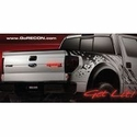 Recon Illuminated Rear Tailgate Emblem - w/ Red Illumination (09-14 Raptor) - Recon 264284RD