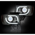 Recon Projector Headlights - Clear Lens (13-14 with Factory Projectors) - Recon 264273CL