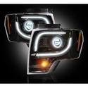 Recon Projector Headlights - Smoked Lens (13-14 with Factory Projectors) - Recon 264273BK