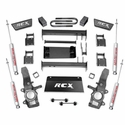 Rough Country 4 in. Suspension Lift Kit - with Premium N2.0 Shocks (97-03 4WD) - Rough Country 477.20