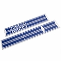 Roush Blue Stripe Kit - Rocker Panel (04-08 SuperCab, SuperCrew) - Roush 401712||401659