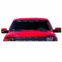 Roush Etched Glass Windshield Banner (09-14) - Roush 421594
