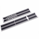 Roush Matte Black Stripe Kit - Rocker Panel (04-08 SuperCab, SuperCrew) - Roush 401965||401966