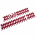 Roush Red Stripe Kit - Rocker Panel (04-08 SuperCab, SuperCrew) - Roush 403749||403752