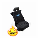 Seat Armour Protective Cover - Black - Ford Oval - AM Interior SA100FORB