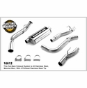 Magnaflow Single Side Exit Behind Passenger Rear Tire Catback Exhaust (04-10 4.6L, 5.4L SuperCab 6.5' Bed, SuperCrew 5.5' Bed) - Magnaflow 16518