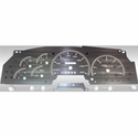 Stainless Steel Gauge Face Kit - White (97-98 All) - AT Interior SSF00W