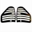 Taillight Covers Originals- Black (Paintable) (09-14 All, Excluding Flareside) - AT Exterior V1589K