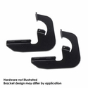 Westin Step Board Mount Kit - Black (04-12 Regular Cab, 04-08 SuperCrew) - Westin 27-1535