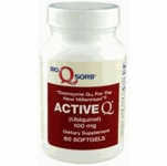 100mg ActiveQ | Tishcon Co Q10 | 60 Softgels