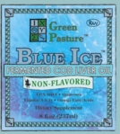BLUE ICE Fermented Cod Liver Oil - Non-Flavored (Liquid)