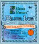 Blue Ice | Non-Gel Orange Capsules