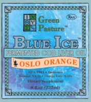 BLUE ICE Fermented Cod Liver Oil | Oslo Orange (Liquid)