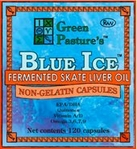 BLUE ICE� Fermented Skate Liver Oil Products