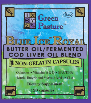 BLUE ICE Royal - Non-Gelatin Capsules