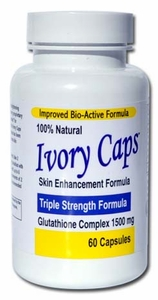 Ivory Caps | Glutathione Complex | 1500mg | 60 capsules