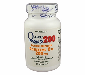 Q-Gel 200mg Double Strength CoQ10 | Tishcon CoQ10