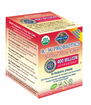 RAW Probiotics™ 5-Day Max Care | Garden of Life