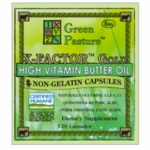 X-FACTOR GOLD High Vitamin Butter Oil