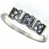 0.36ctw Tanzanite Ring in Sterling Silver