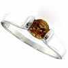 0.49ctw Citrine Ring in Sterling Silver