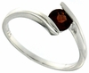 0.60ctw Garnet Ring in Sterling Silver