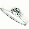 0.60ctw White Topaz and Diamond Ring in Sterling Silver