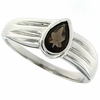 0.68ctw Smoky Topaz Ring in Sterling Silver