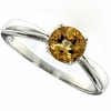 0.78ctw Citrine Ring in Sterling Silver