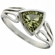 1.04ctw Lemon Quartz Ring in Sterling Silver