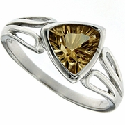 1.05ctw Citrine Ring in Sterling Silver