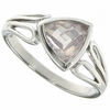 1.06ctw Rose Quartz Ring in Sterling Silver