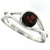 1.08ctw Garnet Ring in Sterling Silver