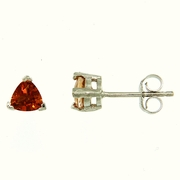 1.10ctw Citrine Earrings in Sterling Silver