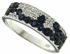 1.12ctw Diffusion Sapphire Ring in Sterling Silver