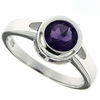 1.45ctw Amethyst Ring in Sterling Silver