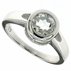 1.45ctw White Topaz Ring in Sterling Silver