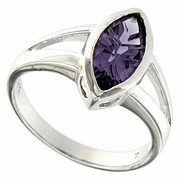 1.55ctw Amethyst Ring in Sterling Silver