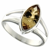1.59ctw Citrine Ring in Sterling Silver