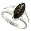 1.65ctw Smoky Topaz Ring in Sterling Silver