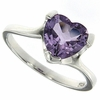 1.68ctw Amethyst Ring in Sterling Silver