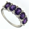 1.75ctw Amethyst Ring in Sterling Silver