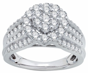 1.75ctw Diamond Bridal Set Rings in 14KT or 10KT