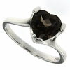 1.75ctw Smoky Topaz Ring in Sterling Silver