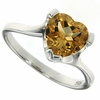 1.79ctw Citrine Ring in Sterling Silver